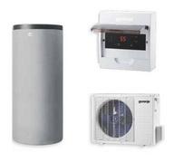 Toplotna črpalka za vodo GORENJE 200 Eco Split (cena z montažo in DDV)