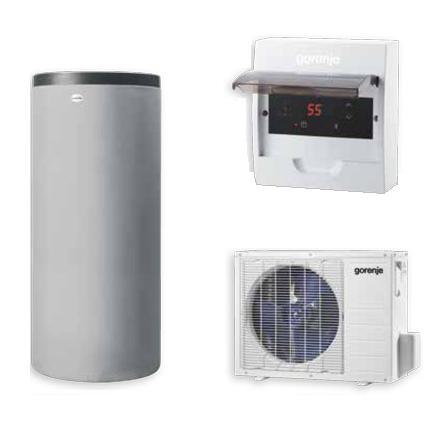 Toplotna črpalka za vodo GORENJE 200 Eco Split - najcenejši način segrevanja sanitarne vode