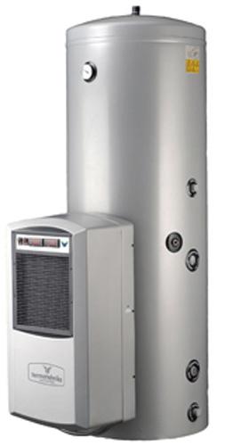 Toplotna črpalka za vodo BASIC - z 200l bojlerjem