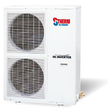 Toplotna črpalka S-Therm GSH-120 DC inverter - zrak - voda